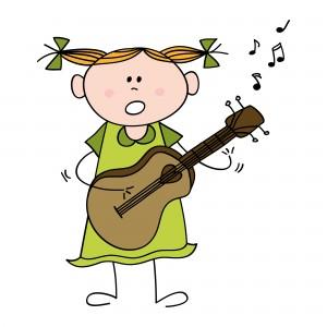 Múscia para niños: Guitarra